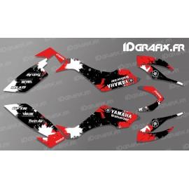 Kit decor Splash Red - IDgrafix - Yamaha 350/450 Wolverine - IDgrafix