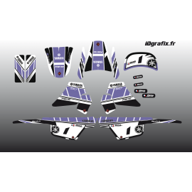 Kit décoration Violet Girly Full - IDgrafix - Yamaha 50 Piwi