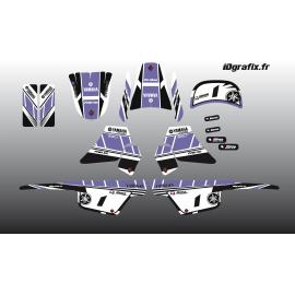 Kit decorazione Viola Girly Full - IDgrafix - Yamaha 50 Piwi -idgrafix