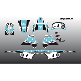 Kit de decoración de color Turquesa Girly Completo IDgrafix - Yamaha 50 Piwi