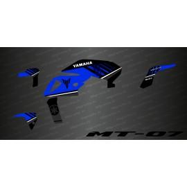 Kit déco 100% Monster Edition (Bleu) - IDgrafix - Yamaha MT-07 (après 2018)