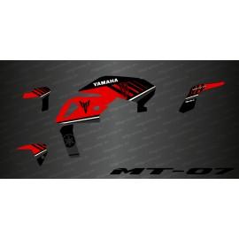 Kit-deco-100% Monster-Edition (Rot) - IDgrafix - Yamaha MT-07 (nach 2018)