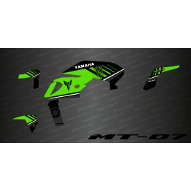 Kit deco 100% Monster Edition (Green) - IDgrafix - Yamaha MT-07 (after 2018)