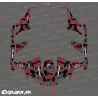 Kit décoration Broken series (Rouge) - Idgrafix - Can Am 1000 Maverick 4 places