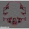 Kit decoration Broken series (Red) - Idgrafix - Can Am 1000 Maverick 4 seater