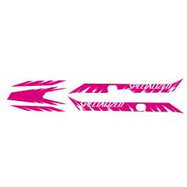 Kit deco Edizione di Fabbrica della Luce (Rosa)- Specialized Turbo Levo -idgrafix