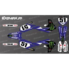 Kit dekor Justin Barcia AMA Edition 2019 - Yamaha YZ/YZF 125-250-450 -idgrafix