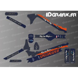 Kit déco TroyLee Edition Full (Bleu/Orange) - Specialized Levo Carbon-idgrafix