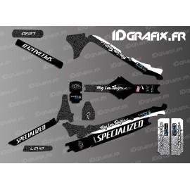 Kit deco TroyLee Edició Completa (Black/White - Especialitzada Levo de Carboni -idgrafix