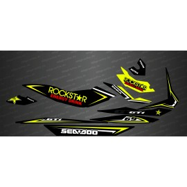 Kit de decoració Cursa Verd (Medium) - per Seadoo GTI -idgrafix