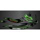 Kit de decoració Rockstar Edició Completa (Verd) - per Seadoo GTI -idgrafix