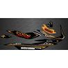 Kit décoration Rockstar Edition Full (Orange) - pour Seadoo GTI