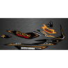 Kit decoration Rockstar Edition Full (Orange) - for Seadoo GTI