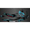 Kit décoration Rockstar Edition Full (Turquoise) - pour Seadoo GTI