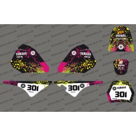 Kit décoration Splash Full - IDgrafix - Yamaha 80 Piwi-idgrafix