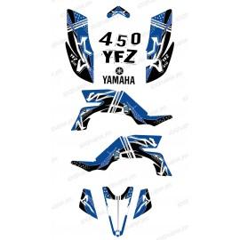 Kit decoration Street Blue - IDgrafix - Yamaha YFZ 450