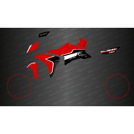 Kit decoration Red GP Edition - Yamaha MT-09 Tracer-idgrafix