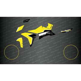 Kit dekor Yellow GP Edition - Yamaha MT-09 Tracer-idgrafix