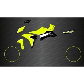 Kit décoration Jaune Fluo GP Edition - Yamaha MT-09 Tracer-idgrafix