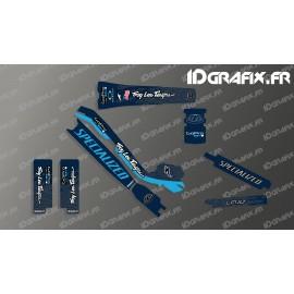 Kit deco Troy Lee Edition Full (Blue) - Specialized Turbo Levo - IDgrafix