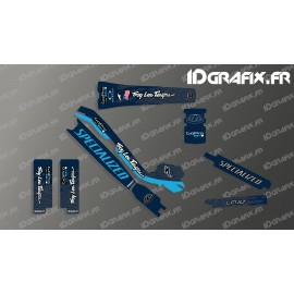Kit deco Troy Lee Edizione Completa (Blu) - Specialized Turbo Levo -idgrafix