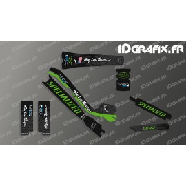 Kit deco Troy Lee Edizione Completa (Verde) - Specialized Turbo Levo -idgrafix