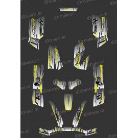 Kit Deco Perso Monster Edition (Grey/Yellow) - Kymco 550 / 700 MXU-idgrafix