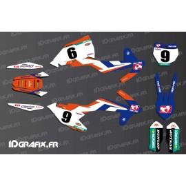 Kit deco Trey Canard Replica KTM SX - SXF-idgrafix