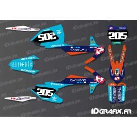 Kit deco, Lucas Oil - GoPro-Edition für KTM SX - SXF -idgrafix
