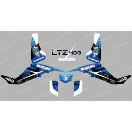Kit décoration Space Bleu - IDgrafix - Suzuki  LTZ 400