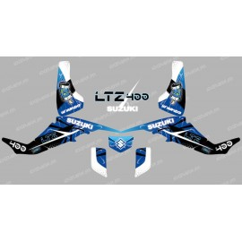 Kit decoration Space Blue - IDgrafix - Suzuki LTZ 400