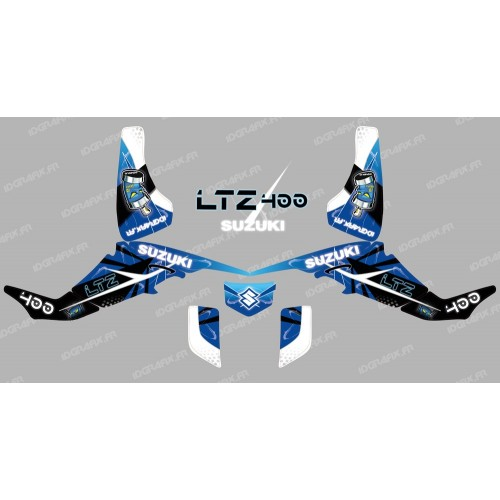 Kit decoration Space Blue - IDgrafix - Suzuki LTZ 400-idgrafix