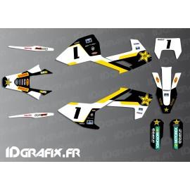 Kit deco Graham Jarvis Réplica (Noir) - Husqvarna TC - TE -FC-idgrafix