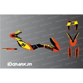 Kit déco Factory Edition pour KTM 690 SMC-idgrafix