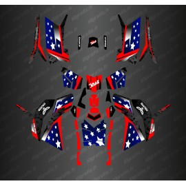 Kit décoration USA editon (Full) - IDgrafix - Polaris 850/1000 Scrambler