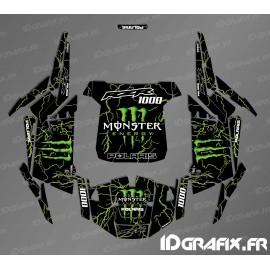 Kit décoration Monster 2018 Edition (vert)- IDgrafix - Polaris RZR 1000