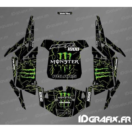 Kit décoration Monster 2018 Edition (vert)- IDgrafix - Polaris RZR 1000-idgrafix