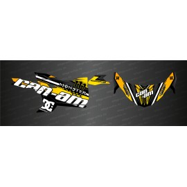 Kit décoration Factory Edition (Jaune) - Idgrafix - Can Am Maverick Trail