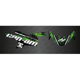 Kit decoration Factory Edition (Green) - Idgrafix - Can Am Maverick Trail-idgrafix