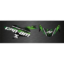 Kit decoration Factory Edition (Green) - Idgrafix - Can Am Maverick Trail - IDgrafix