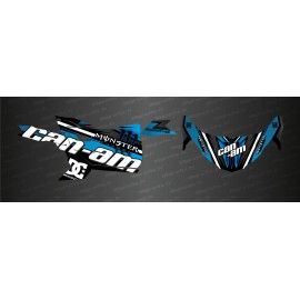 Kit décoration Factory Edition (Bleu) - Idgrafix - Can Am Maverick Trail-idgrafix
