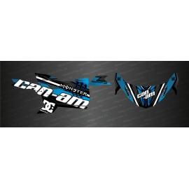 Kit décoration Factory Edition (Bleu) - Idgrafix - Can Am Maverick Trail