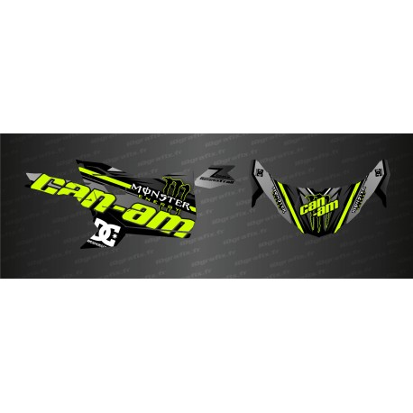Kit décoration Factory Edition (Jaune Mentha) - Idgrafix - Can Am Maverick Trail-idgrafix