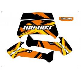 Kit dekor 100% Perso - Can-Am Outlander G2-idgrafix