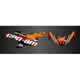Kit de decoración de Repsol Edition - Idgrafix - Can Am Maverick Trail -idgrafix