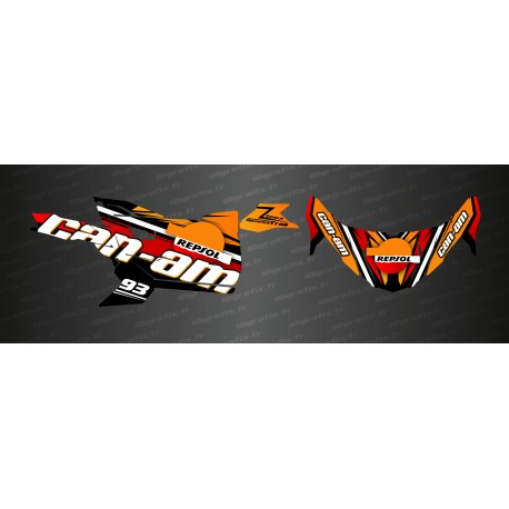 Kit décoration Repsol Edition - Idgrafix - Can Am Maverick Trail-idgrafix