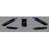Kit déco 100% Perso - Complement Protection Base (BLEU) - Specialized