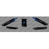 Kit deco 100% Personalizado Complementario de Protección de la Base (AZUL) - Especializado