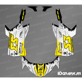 Kit de decoración de Carrera NOS Edición - Idgrafix - Can Am Maverick Trail -idgrafix
