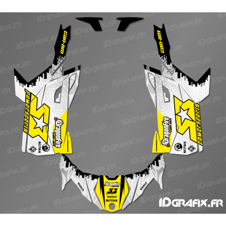 Kit décoration Race US Edition - Idgrafix - Can Am Maverick Trail-idgrafix